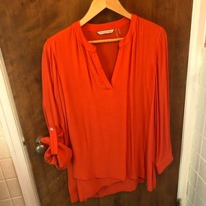 Soft surroundings Tangerine Tunic size Small